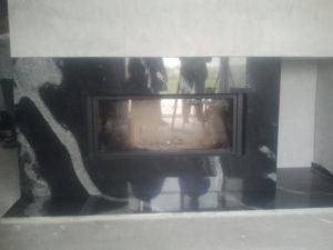 kamieniarstwo obudowa marmurowa kominka